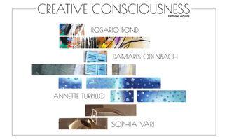 CREATIVE CONSCIOUSNESS, installation view