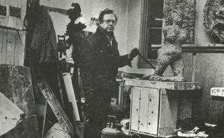 Rueben Kadish: Bronze Sculpture, installation view