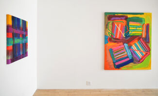 Paintings, installation view
