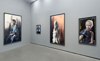 Martin Eder: Those Bloody Colours, installation view