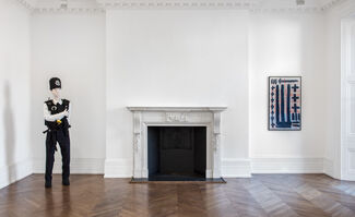 """""""About the Human Figure"""", installation view"""