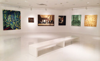 """Time At Yeditepe IV """"Multiple Approaches"""", installation view"""