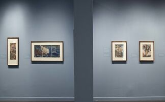 Graphic Heroes, Magic Monsters: Japanese Prints by Utagawa Kuniyoshi from the Arthur R. Miller Collection, installation view