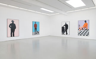 Otis Kwame Kye Quaicoe: Black Like Me, installation view