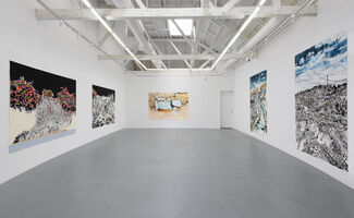 "Francesca Gabbiani ""Vague Terrains/Urban Fuckups"", installation view"