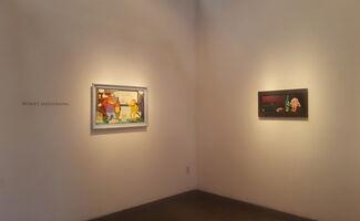 Roast Hoggmann: The World is Flat, installation view