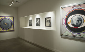 PAUL LAFFOLEY: The Visionary Point, installation view