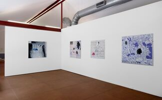 Vernon Fisher Works on Paper, installation view