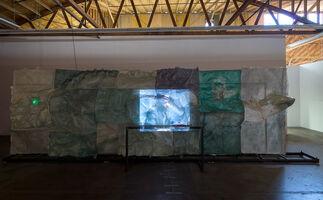 Neïl Beloufa: Democracy, installation view