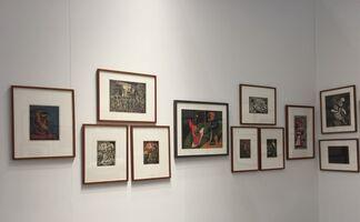 Susan Teller Gallery at IFPDA Print Fair 2017, installation view