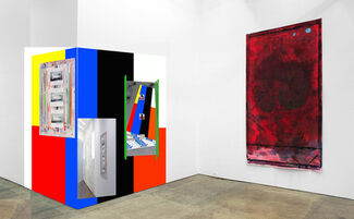 Material Images, installation view