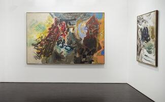 Friedel Dzubas: Gestural Abstraction, installation view