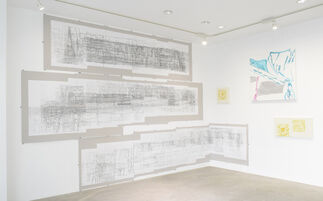 Masumi Nakaoka's solo show: Building Blocks, installation view