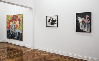 HOT LIGHTS, visions from the 80's., installation view