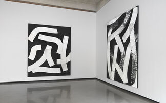 James Nares: ROAD PAINT, installation view