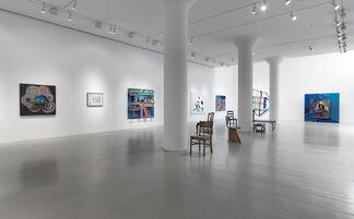Chris Johanson, installation view