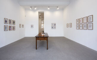 Bjarne Melgaard: Pain Poems and other drawings, installation view