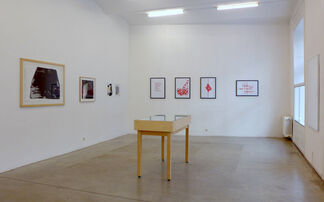 ON PAPER curated by Sepp Auer, installation view