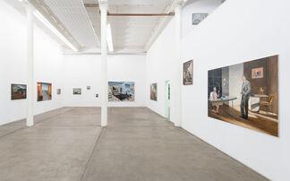 """Axel Krause - """"Spätfilm"""", installation view"""