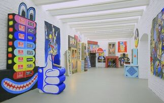 Highway to Hello, installation view