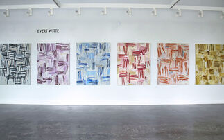 New Paintings by Evert Witte and Photographic Works by Sandra Russell Clark, installation view