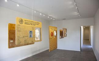 Rodrigo Lara Zendejas, NARRATIVAS DEL EXPATRIADO, installation view