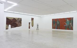 Leon Golub: Bite Your Tongue, installation view