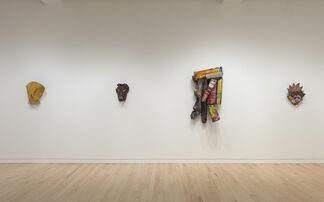 John Chamberlain: Masks, installation view