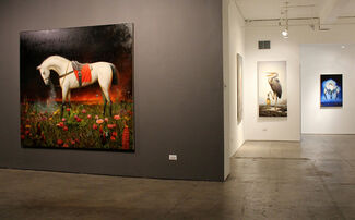 Martin Wittfooth - Offering, installation view
