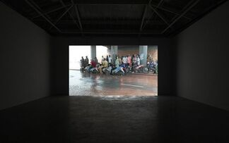 David Claerbout: Interfuit, installation view