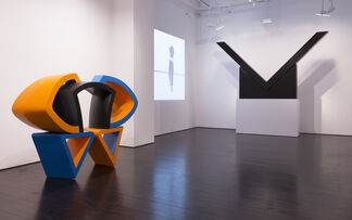 Expanding Space: Ronald Bladen, Al Held, Yvonne Rainer and George Sugarman, installation view