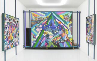 Franz Ackermann - Classic Line, installation view