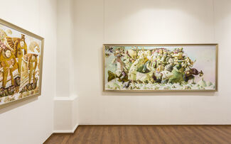 Edge of the World by Anna Berezovskaya, installation view