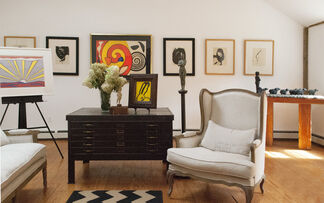 Prints by American Masters, installation view