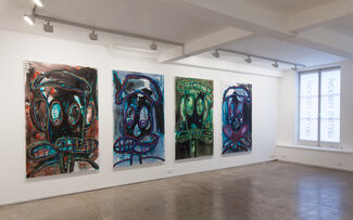 Aboudia, Trin Trin Ba-By, installation view