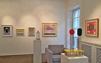 Sadamasa Motonaga ,The energy of infancy, installation view