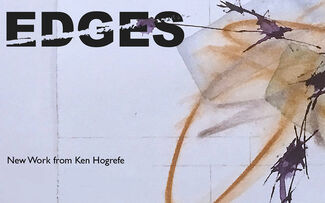 Edges, New Work by Ken Hogrefe, installation view