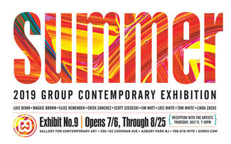 Summer - 2019 Group Contemporary Exhibition, installation view