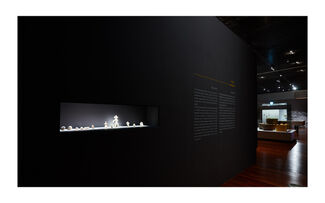 NEOLITHIC PEOPLE: A NEW LIFE AND A NEW CLIMATE, installation view