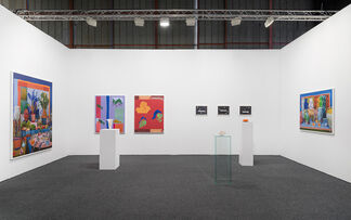 M+B at Art Los Angeles Contemporary 2017, installation view