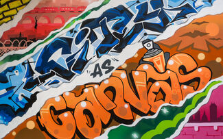 CITY AS CANVAS: NEW YORK CITY GRAFFITI FROM THE 70S & 80S, installation view