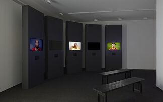 Hank Willis Thomas: Question Bridge - Black Males, installation view