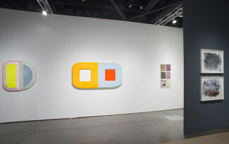 Diane Rosenstein at Seattle Art Fair 2018, installation view