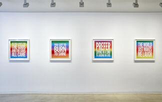 JOHN GIORNO, installation view