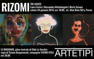 TRE GIUSTE Laura Fortin | Alessandra Michelangelo | Marta Sesana, installation view