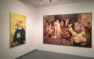 EYES WIDE SHUT / ABSTRACT FEELINGS, installation view