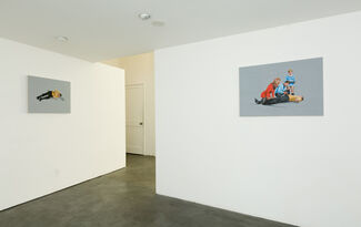 In Color and Black and White, installation view