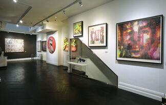 Retrospective, installation view