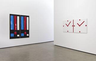 Bernard Piffaretti: Moving Pictures, installation view