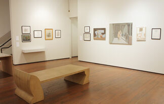 David Byrd - Drawing from Painting, installation view